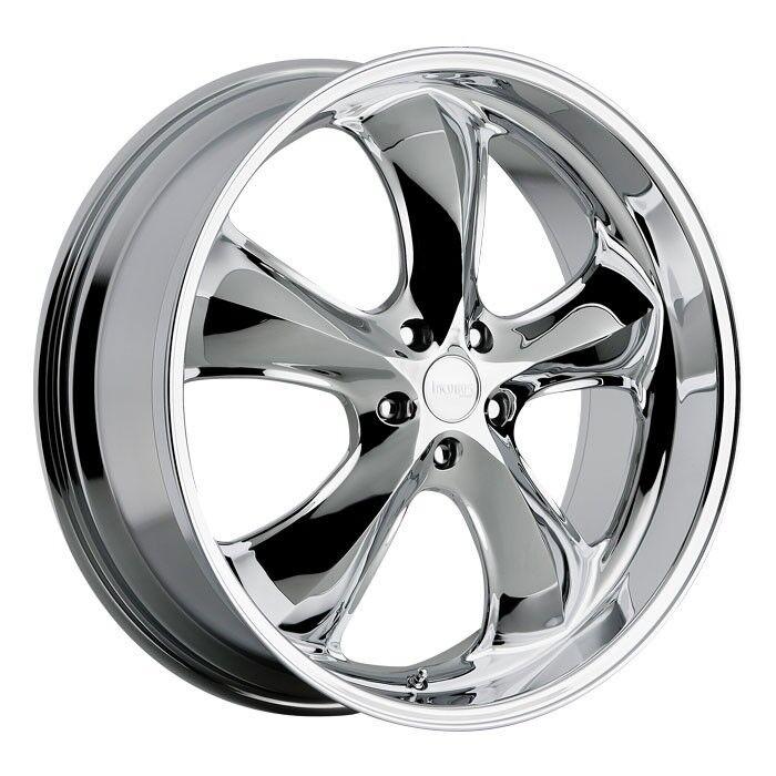 22 Inch Incubus Shylock Chrome Wheels Rims 5x115 15 Dodge