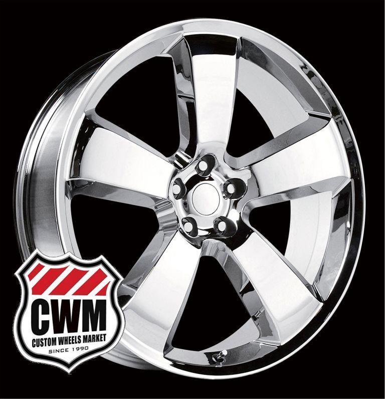 Dodge Charger SRT8 Style Chrome Wheels Rims for Dodge Magnum 2008