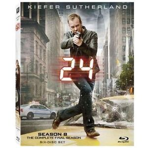 24: The Complete Eighth Season (Blu-ray ...