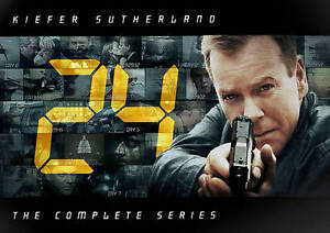 24: The Complete Series (DVD, 2010, 55-D...