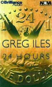 24 Hours by Greg Iles (2000, Cassette, U...