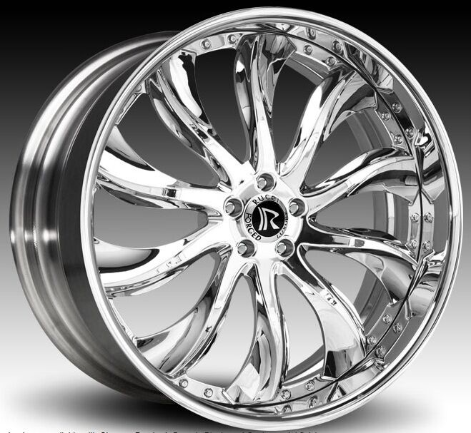 """24"""" inch Rucci Forged Wheels Dodge Charger Challenger asanti Forgiato"""