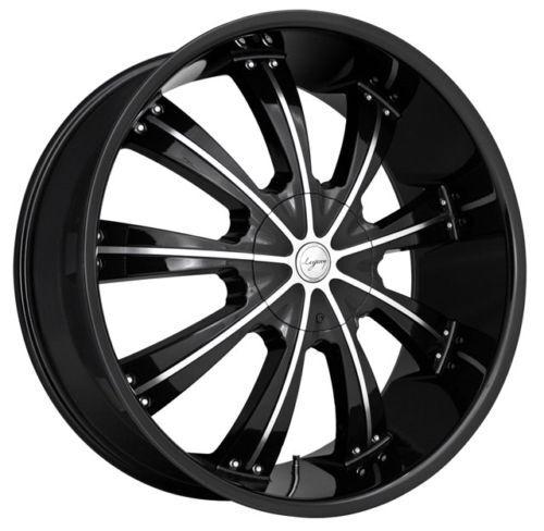 24 inch Land Range Rover HSE Black Wheels Rims 5x120