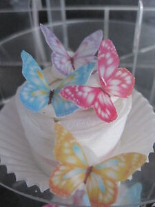 24-SMALL-Sweet-Edible-Butterfly-Cup-Cake-Decorations