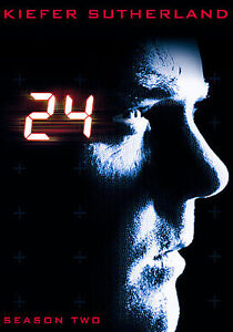 24 - Season 2 (DVD, 2009, 7-Disc Set)