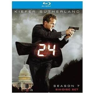24 - Season 7 (Blu-ray Disc, 2009, 6-Dis...