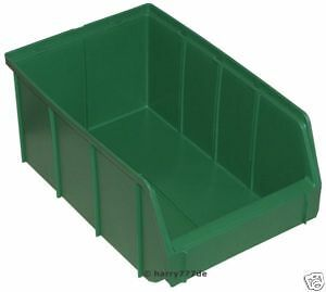 24-Stueck-grosse-gruene-neuwertige-Lagerboxen-XXL-Groesse-4-SONDERPREIS