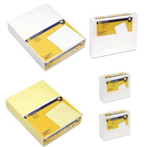 24 Writing Pads: Legal Ruled White or Yellow or Scratch Unruled White in Home & Garden, Other | eBay