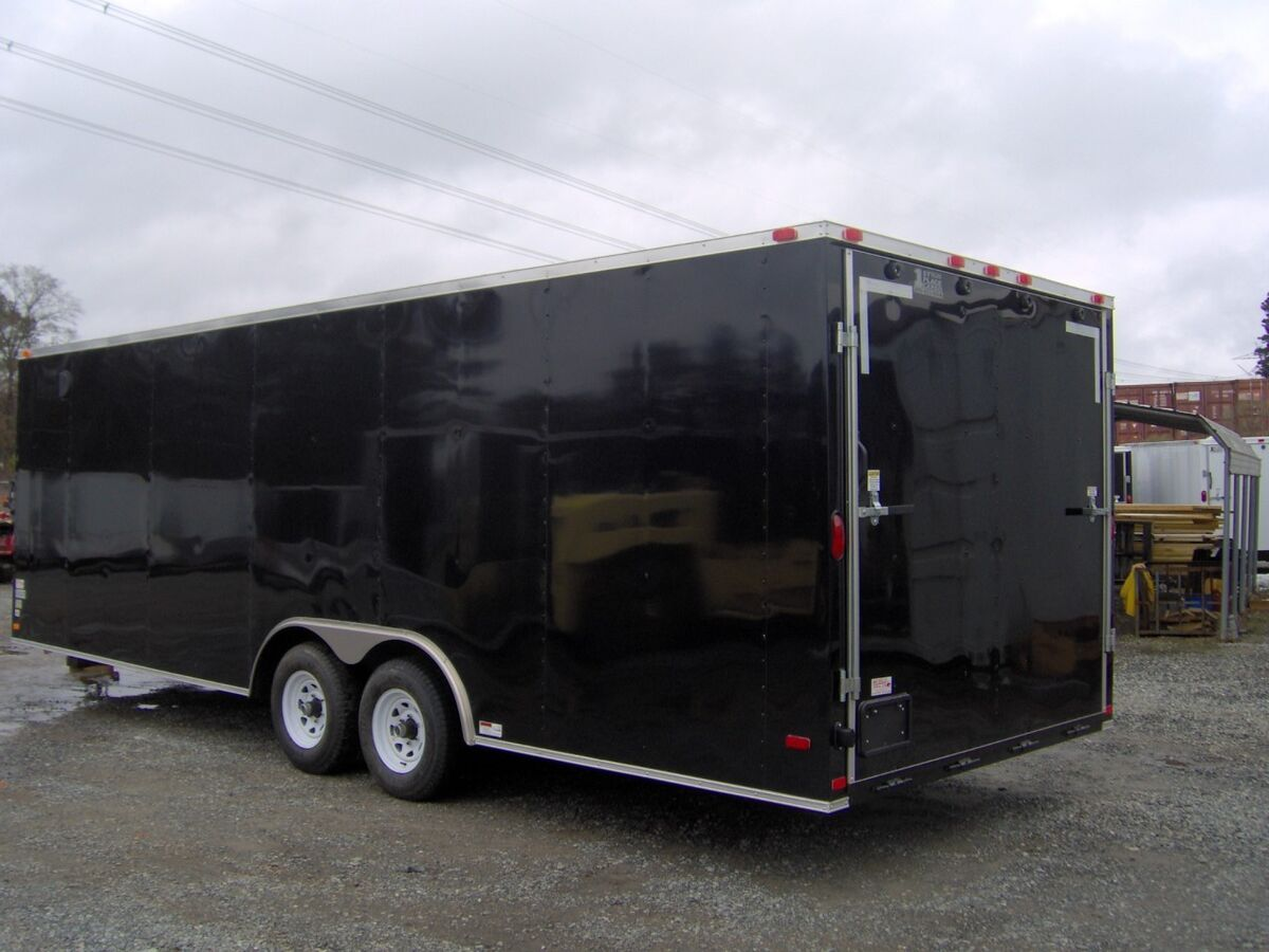 Bike Enclosed Motorcycle Trailer