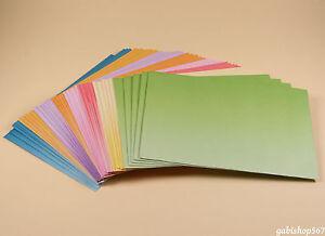 240-Briefumschlaege-DIN-C6-Kuvert-Farbverlauf-Umschlaege-farbig-bunt-Briefhuelle