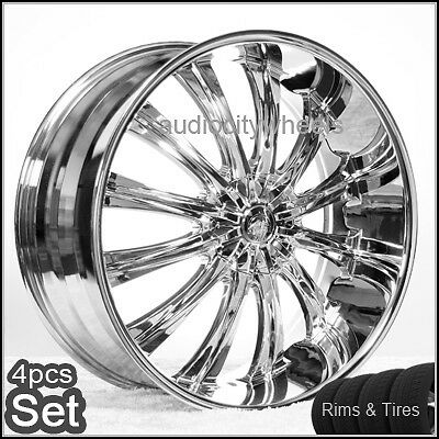24inch Wheels and Tires Wheels Rims Chevy Ford Cadillac