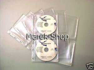25-Stueck-A4-Einleger-fuer-4x-CD-DVD-BD-Multi-Lochung-NEU-Rechnung