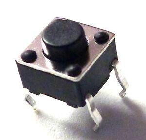 25-Stueck-Print-Taster-Drucktaster-Leiterplatte-RoHS-Neuware