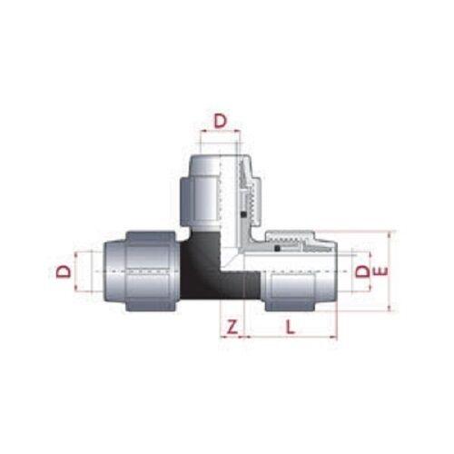 25-mm-PE-Rohr-T-Stueck-TOP-QUALITAT-Nr-297