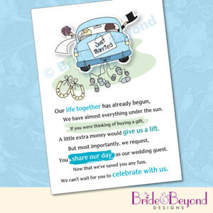 Wedding Abroad No Gift Poem : Bridal Shower Invitations: Bridal Shower Invitations Asking For Money