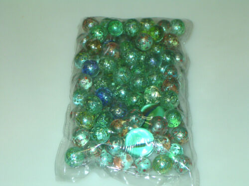 "250 stardust glass marbles 5/8"" approx. in Toys & Hobbies, Marbles, 1970-Now 