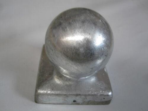 Pfostenkappe Abdeckkappe Zaunkappen feuerverzinkt passend 120x120 mm Kappe