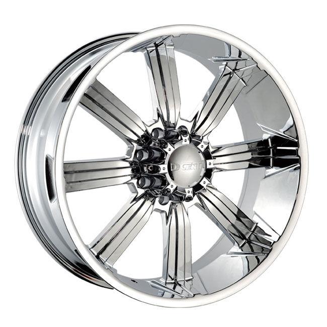 26 DW 903 Chrome Wheels Rims 305 30 26 Tires 8 Lug Hummer H2 GMC