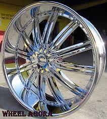 26 inch Wheels Rims Tires Escalade Tahoe Suburban Denali Yukon