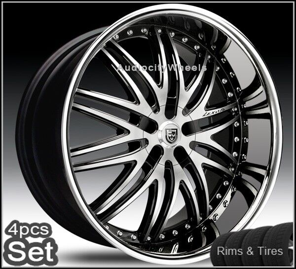 26 Lexani Rims and Tires Wheels Chevy Ford Escalade