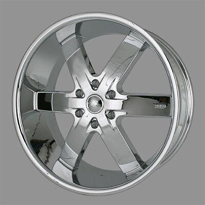 55 Chrome Wheels Rims Tire Escalade Tahoe Yukon Navigator Silverado 24