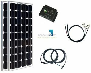 260 watt camping solaranlage 12 volt set basis anlage f r garten und camping ebay. Black Bedroom Furniture Sets. Home Design Ideas