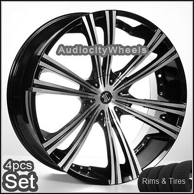 26inch Wheels and Tires Rims Chevy Ford Escalade QX56