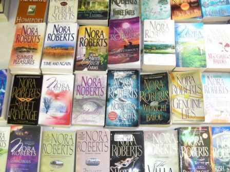 27 pb lot NORA ROBERTS OVERSTOCK GRAB BAG ROMANCE MYSTERY PARANORMAL in Books, Fiction & Literature | eBay
