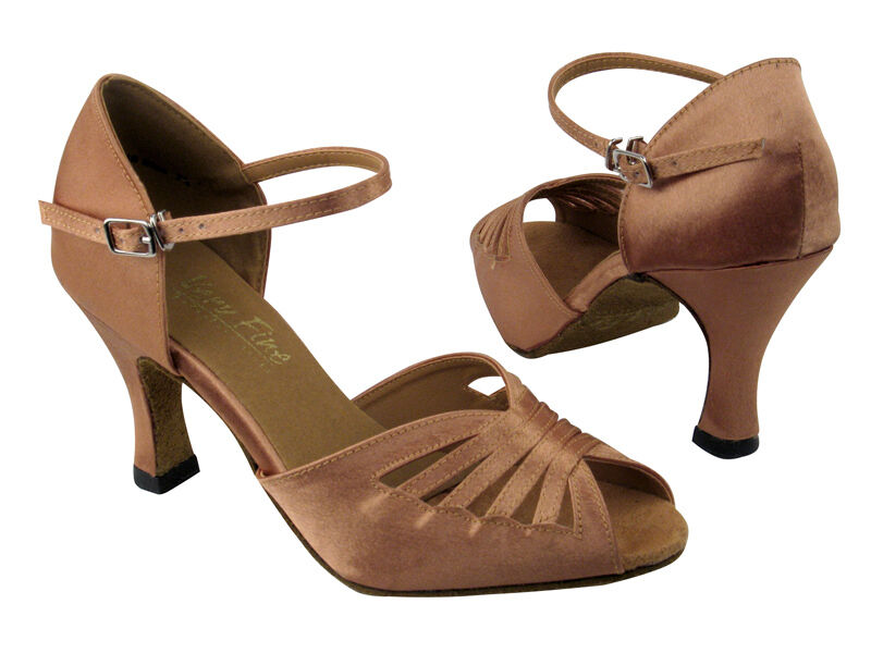 Brown Dance Shoes   Inch Heel