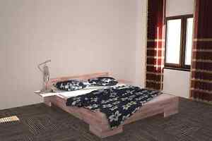 27mm echtholz buche massivholz betten 180x200 doppelbett. Black Bedroom Furniture Sets. Home Design Ideas