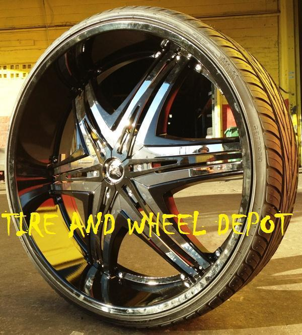 28 INCH ELITE B RIMS AND TIRES IMPALA CAPRICE CHEVELLE CHARGER R T SE