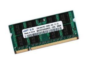 2GB-DDR2-RAM-Speicher-Fujitsu-Siemens-LifeBook-E8310-E8410-Samsung-667-Mhz