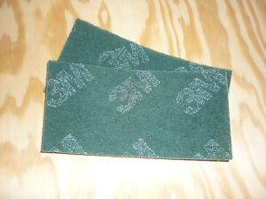 2st schleifvlies 3m handpad polieren schleifen edelstahl metall holz gr n ebay. Black Bedroom Furniture Sets. Home Design Ideas
