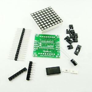2Stk-Neu-MAX7219-Dot-Matrix-Module-DIY-kit-Cascade-Control-Display-Module