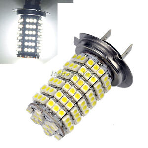 2X-Car-Auto-Light-Lamp-Bulb-120-LED-3528-SMD-H7-Xenon-White-Fog-Driving-Head-12V