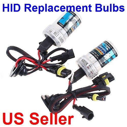 2X H7 H8 H9 H11 9005 9006 HB3 HB4 6000K 8000K 10000K HID Replacement Light Bulbs in Consumer Electronics, Gadgets & Other Electronics, Other | eBay