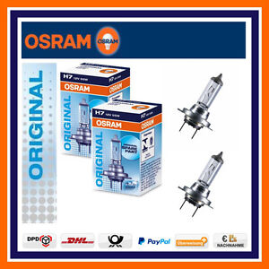 2x osram original line h7 12v 55w abblendlicht renault. Black Bedroom Furniture Sets. Home Design Ideas
