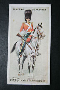 2nd-Royal-North-British-Dragoons-Heavy-Brigade-Crimea-Vintage-Card-VGC