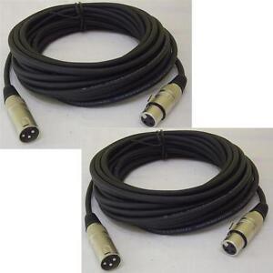 2x-10-m-Mikrofonkabel-XLR-XLR-3-pol-schwarz-DMX-Kabel-Mikrofon-Kabel-Adam-Hall