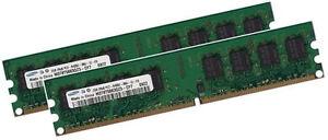 2x-2GB-4GB-Ram-fuer-Fujitsu-Siemens-CELSIUS-W360-Speicher-PC2-5300-DDR2-667Mhz