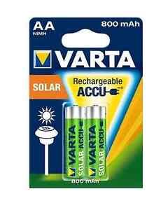 2x-Akku-AA-Mignon-Varta-Rechargeable-Accu-Solar-800-mAh-NiMH-56736-Blister