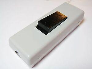 2x-Schnurschalter-Schalter-1xEIN-AUS-250V-6A-Zugentlastung-schraubbar-9S70