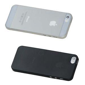 2x-Schutzhuelle-Ultra-Slim-iPhone-5s-sehr-duenn-Case-Huelle-Cover-weiss-schwarz