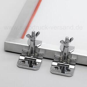 2x-Siebrahmenzwingen-Siebdruck-Klammern-fuer-Siebdruckrahmen-Siebdruckmaschine