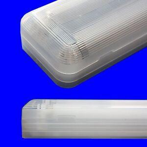 2x36W-EVG-Feuchtraumwannenleuchte-Wannenleuchte-Feuchtraumlampe-Leuchtstoffroehre