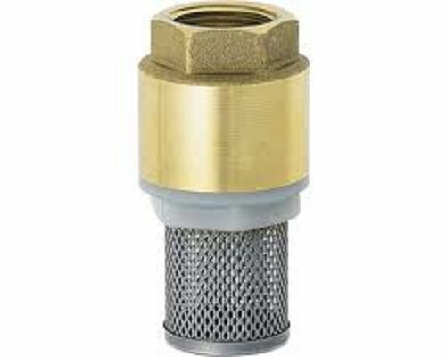 Quot ig setback foot valve with stainless steel strainer