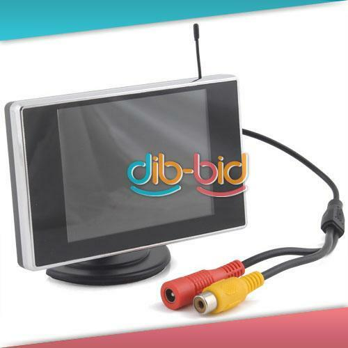 "3 5"" TFT LCD Car Rearview Color Wireless Monitor DVD"