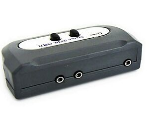 Stereo 3 5 mm audio switch box