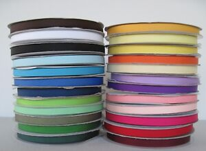 "3/8"" Grosgrain Ribbon Solid Color U Pick Lot 50 Yards in Crafts, Multi-Purpose Craft Supplies, Ribbon & Bows 