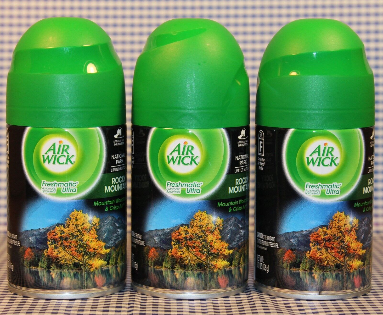 3 Air Wick Freshmatic Ultra Rocky Mountains Automatic